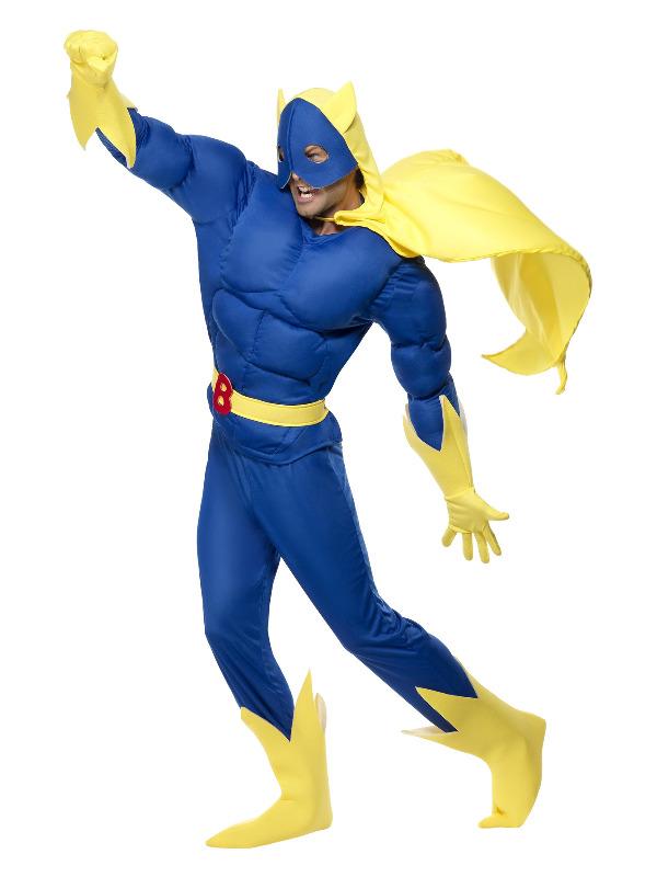 Bananaman Padded Costume, Blue