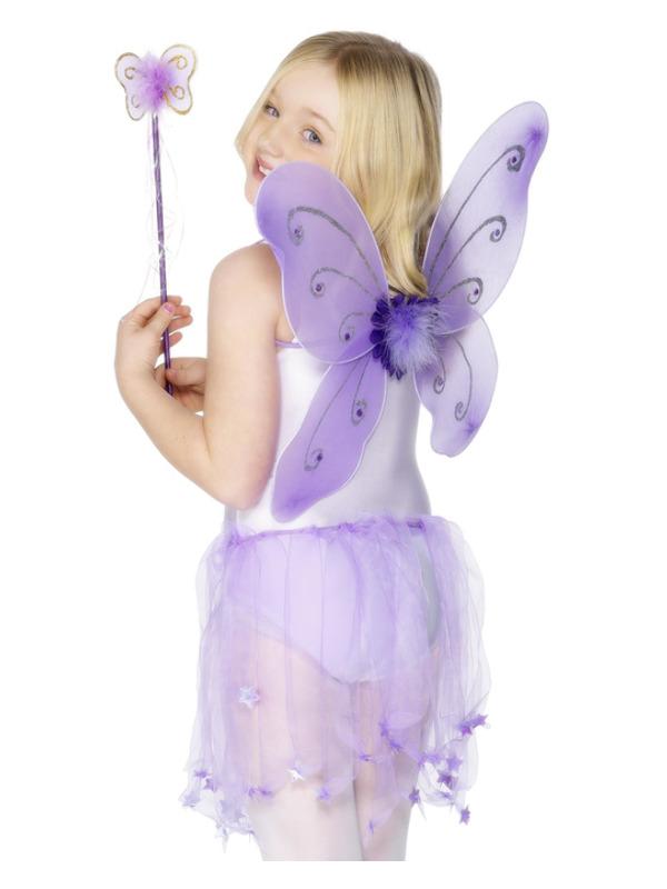 Butterfly Wings & Wand, Purple