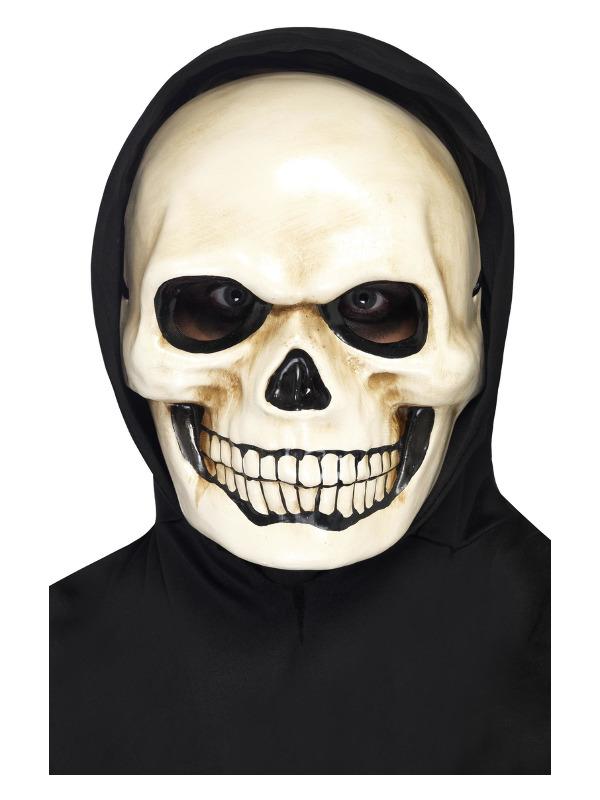 Skull Mask, White