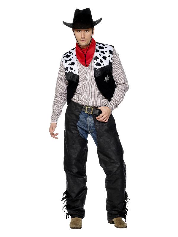 Cowboy Costume, Black