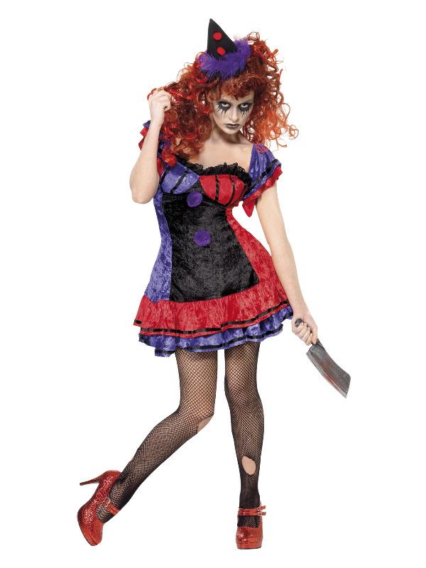 Cirque Sinister Bo Bo the Clown Costume, Purple