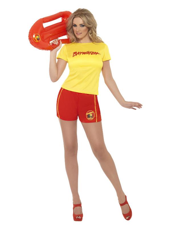 Baywatch Beach Costume, Yellow