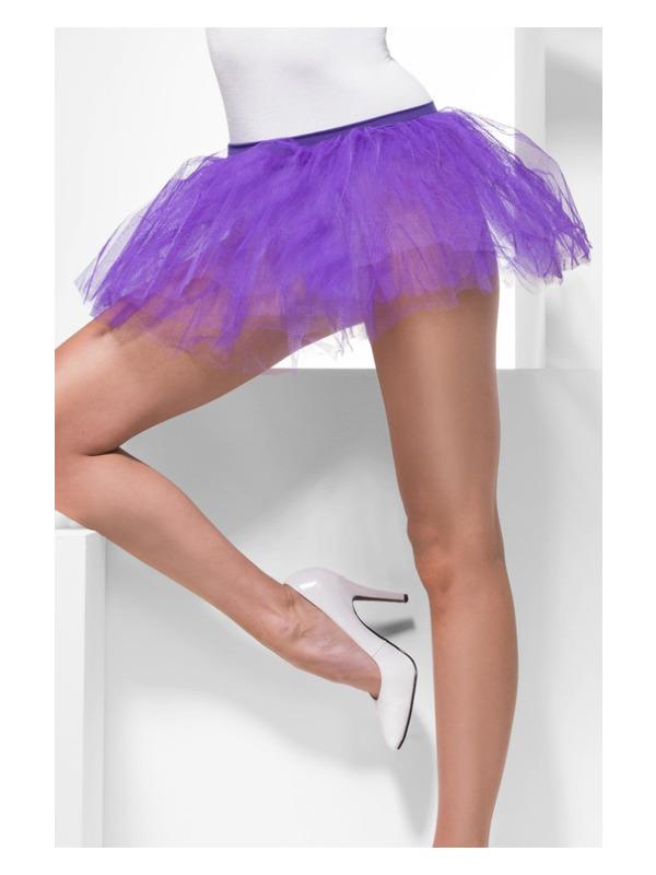 Tutu Underskirt, Purple, 4 Layers, 30cm Long