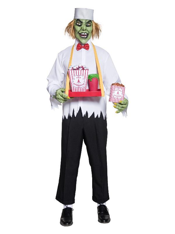 Cirque Sinister Depraved Concession Man Costume, W