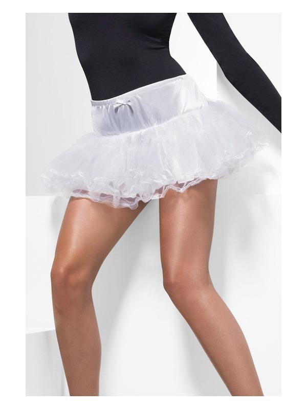 Tulle Petticoat, White