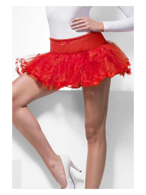 Tulle Petticoat, Red