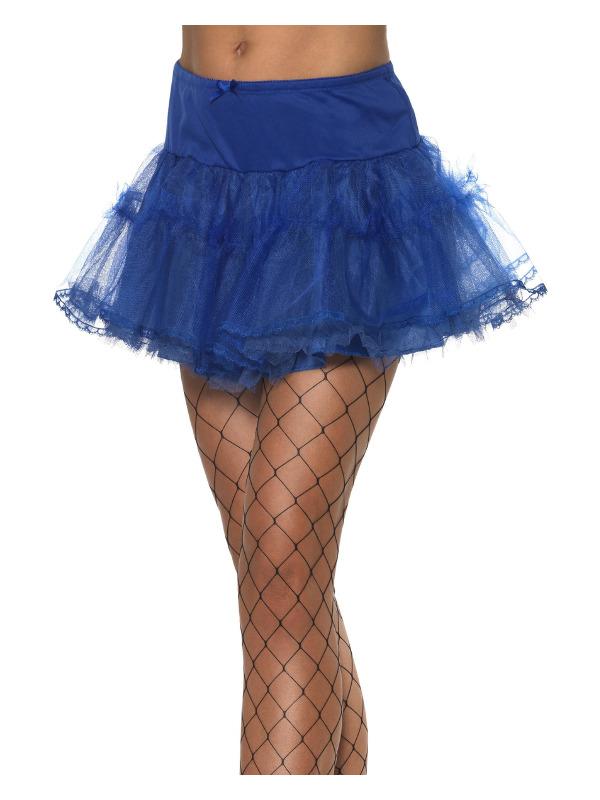 Tulle Petticoat, Blue