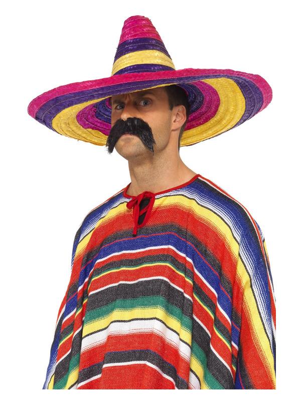 Large Sombrero, Multi-Coloured