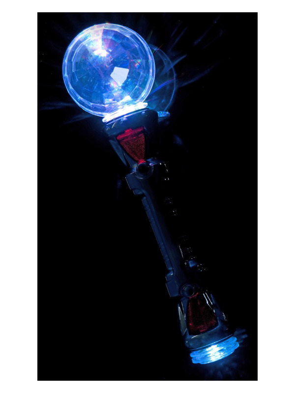 Multi Flashing Disco Stick, Multi-Coloured, 31cm / 12in