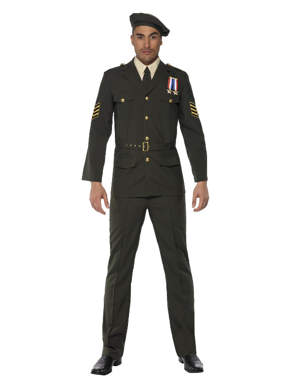 Wartime Officer, Green