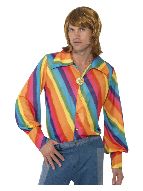1970s Colour Shirt, Rainbow