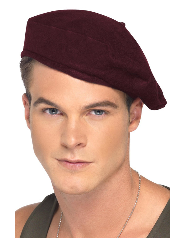 Soldiers Beret, Red