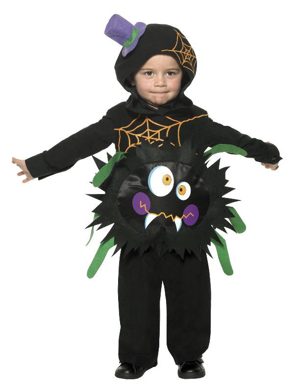 Crazy Spider Costume, Black