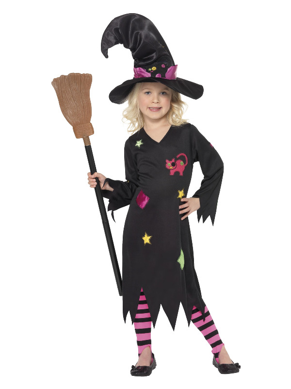 Cinder Witch Costume, Black
