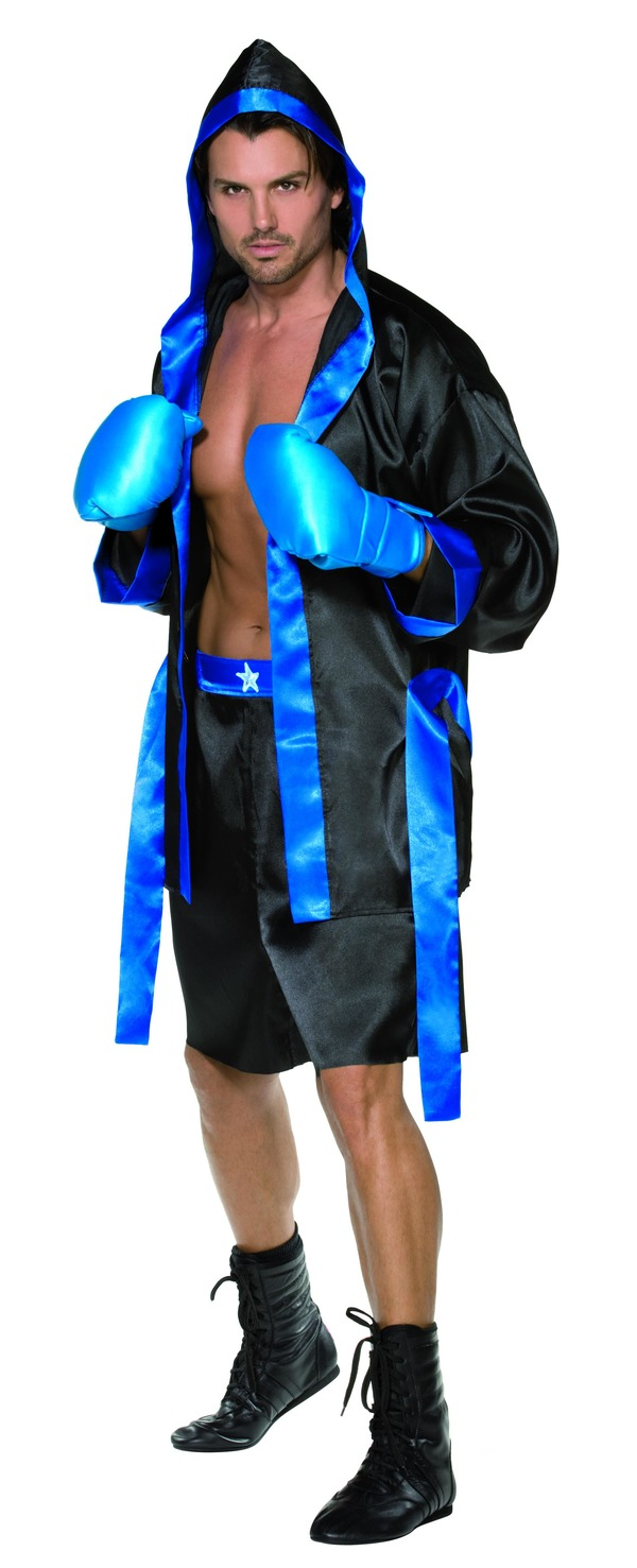 Boxer Costume, Black