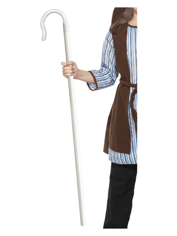 Shepherds Extendable Staff, White, 150cm/59in