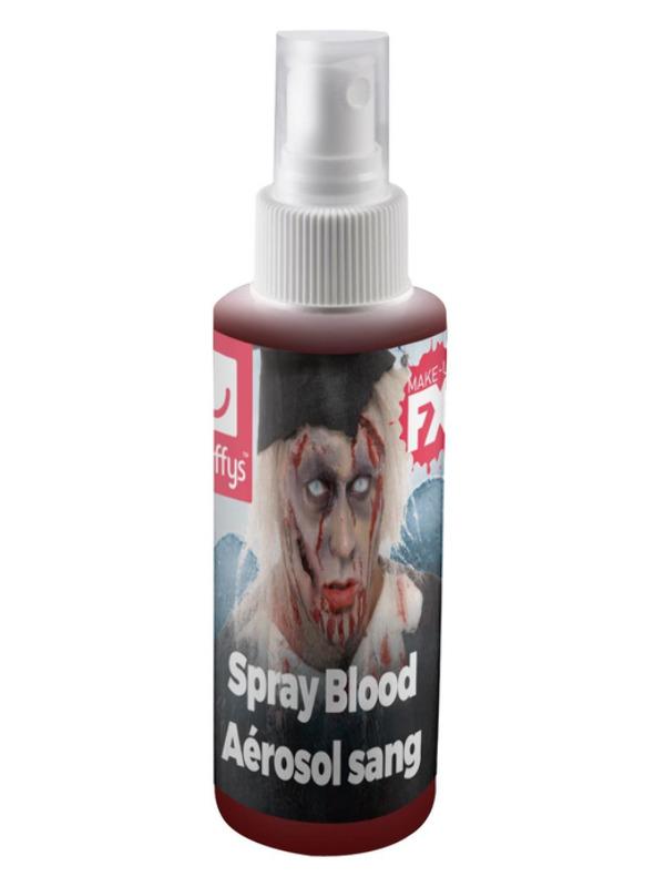 Smiffys Make-Up FX, Spray Blood, Red, Pump Action Atomiser, 28.3ml/1oz