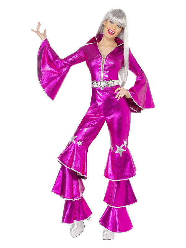 1970s Dancing Dream Costume, Pink