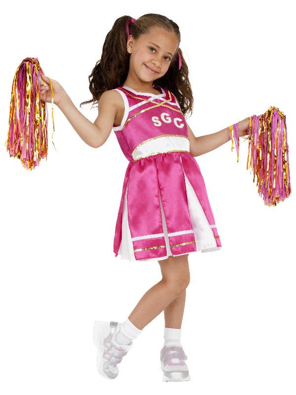Cheerleader Costume, Child, Pink