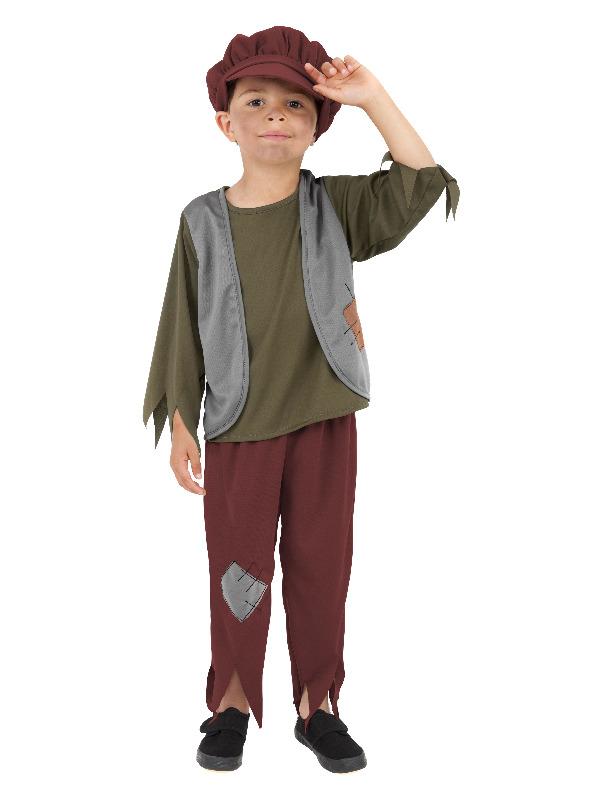 Victorian Poor Boy Costume, Green