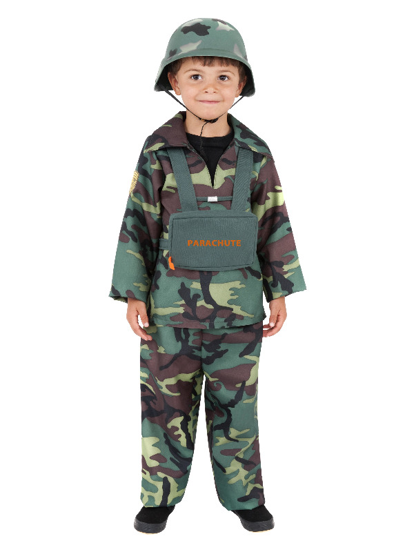 Army Boy Costume, Camouflage