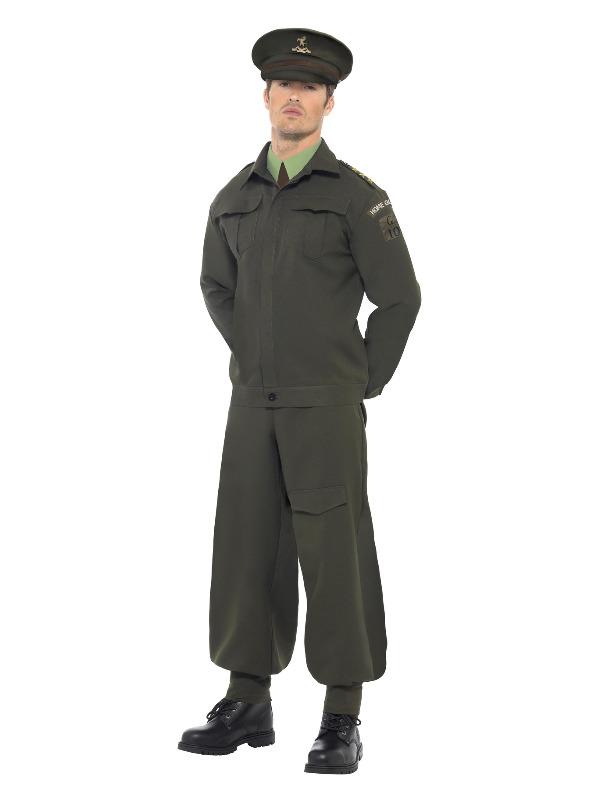 WW2 Home Guard Costume, Green