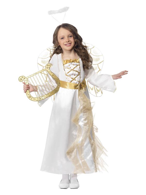 Angel Princess Costume, White