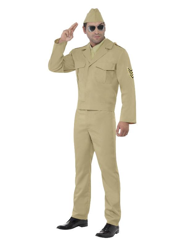 American GI Costume, Beige