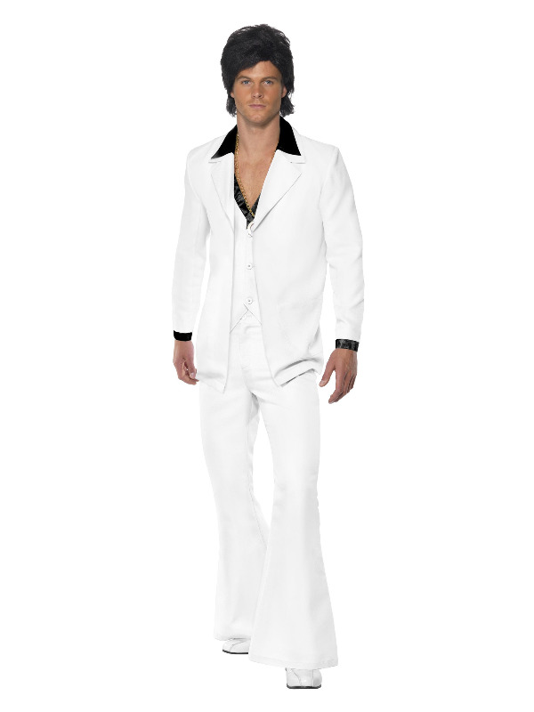 1970s Suit Costume, White