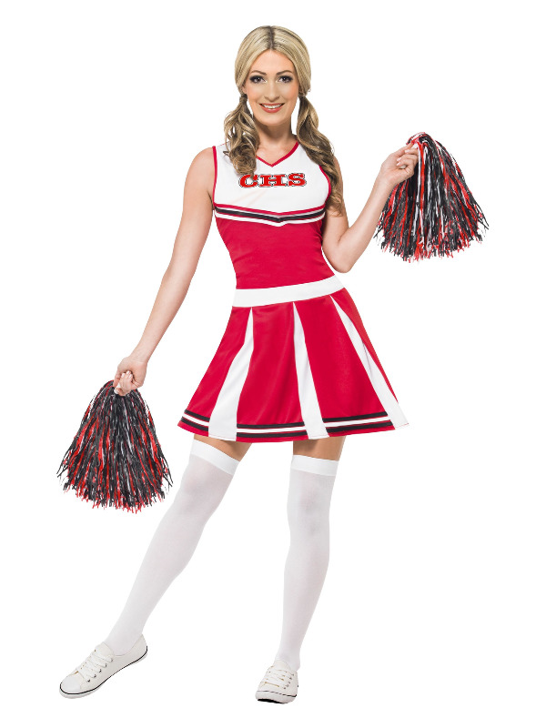 Cheerleader Costume, Red