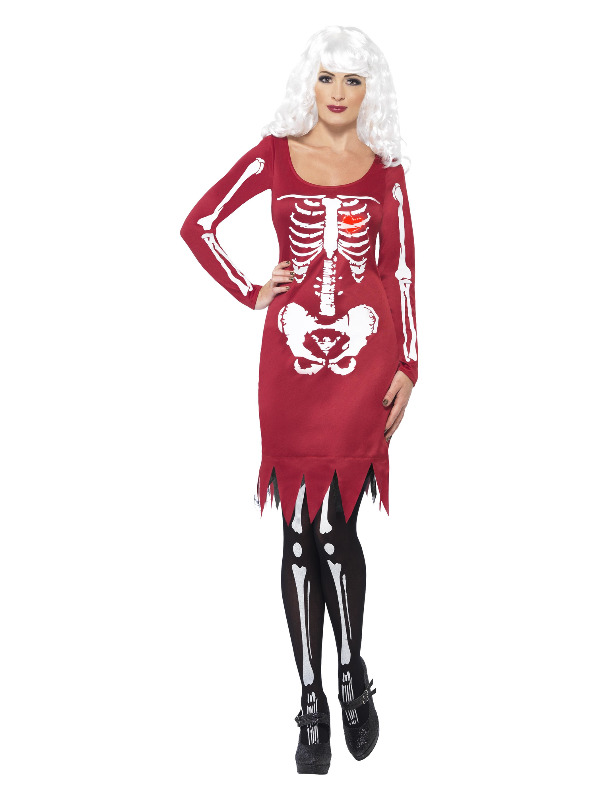 Beauty Bones Costume, Red