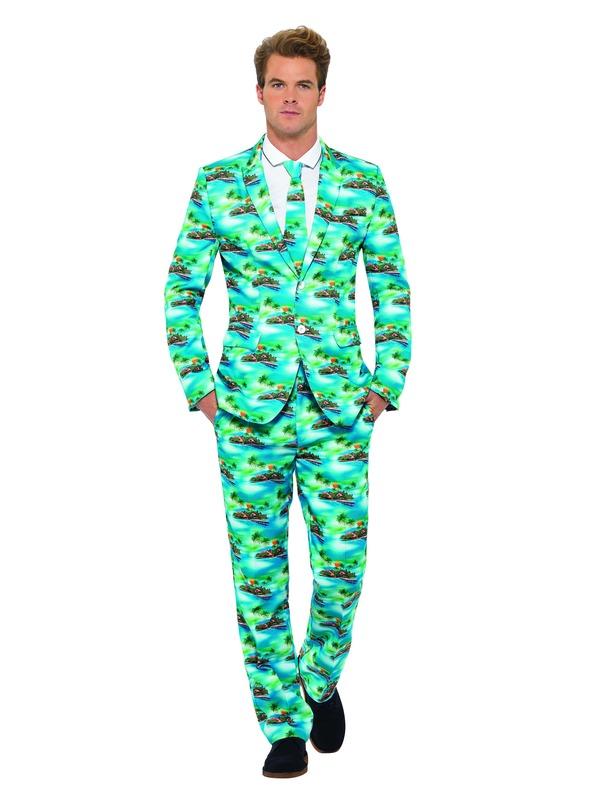 Aloha! Suit, Blue
