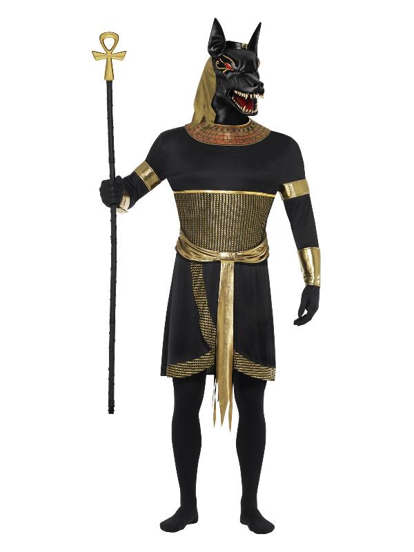 Anubis the Jackal, Black & Gold