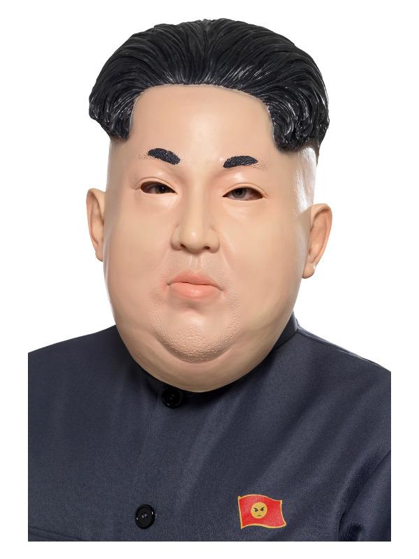 Dictator Overhead Mask, Flesh, Latex