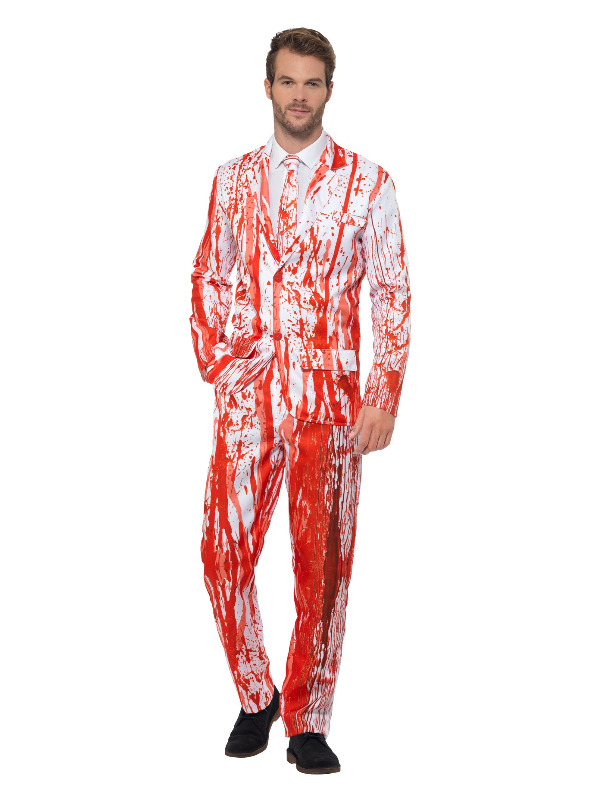 Blood Drip Suit, Red