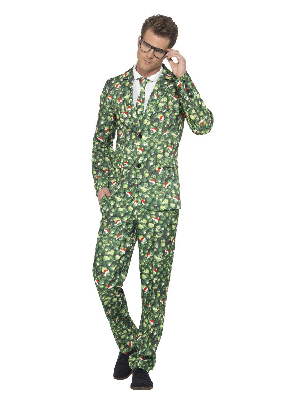 Brussel Sprout Suit, Green
