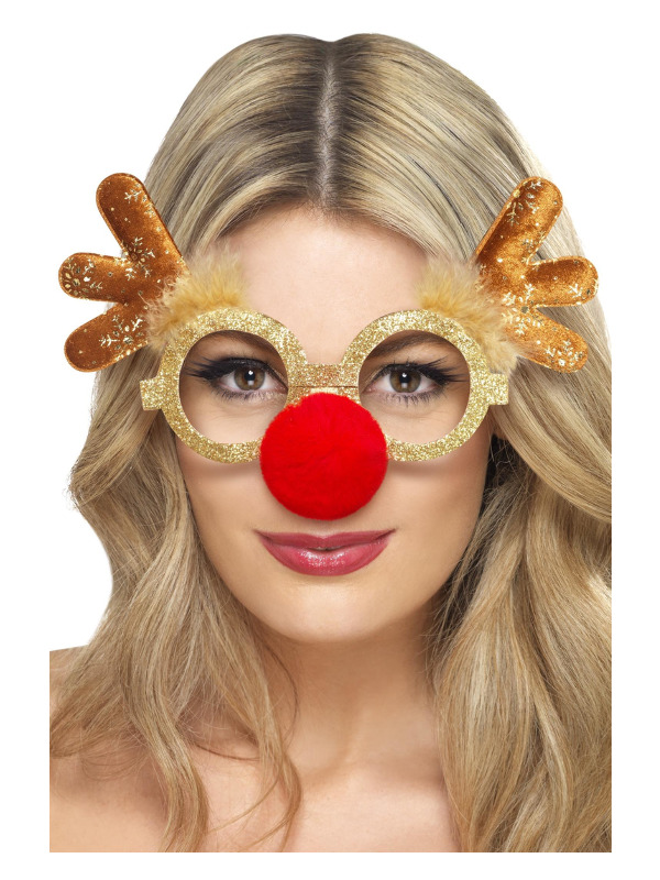 Reindeer Comedy Specs, Gold
