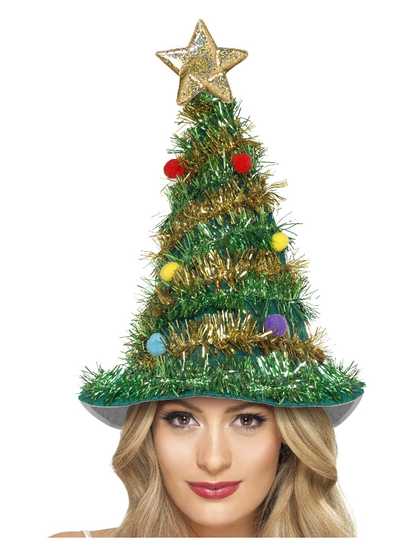 Christmas Tree Hat, Green