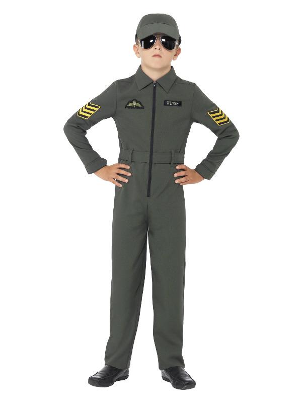 Aviator Costume, Khaki