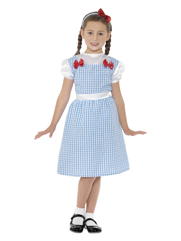 Country Girl Costume, Blue
