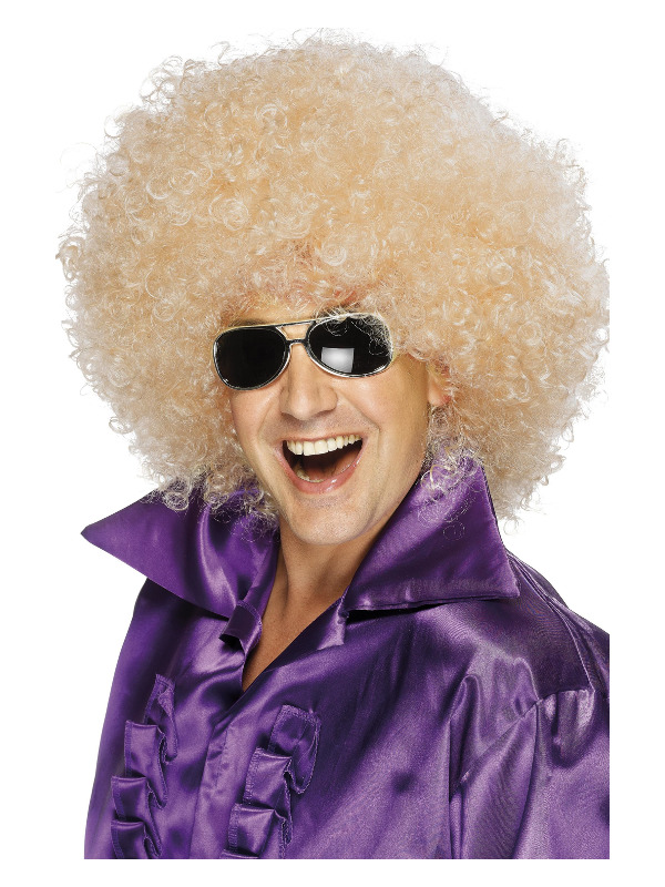 Afro Wig, Mega-Huge, Blonde