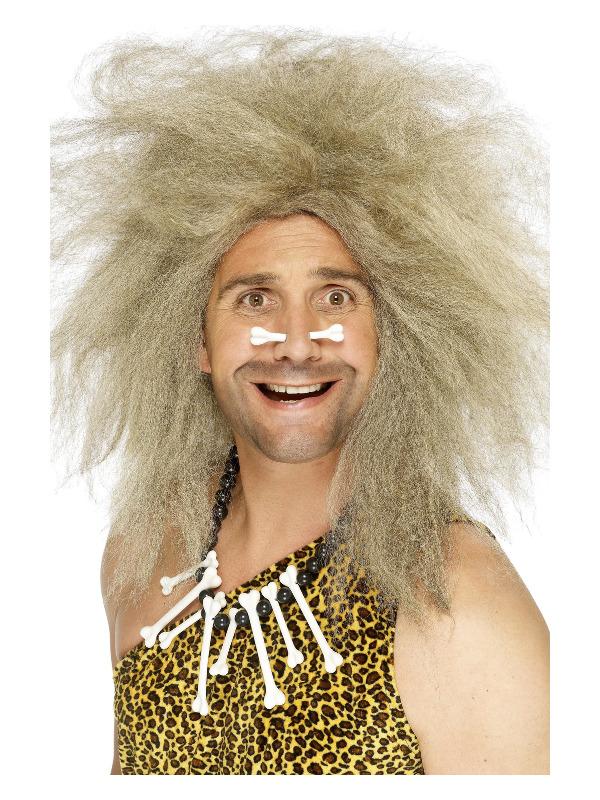 Crazy Caveman Wig, Blonde, Big