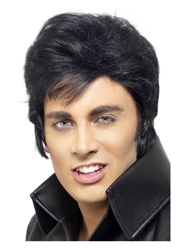 Elvis Wig, Black