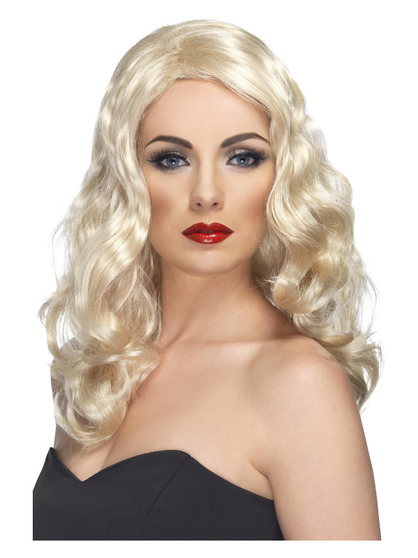 Glamorous Wig, Blonde, Long and Wavy