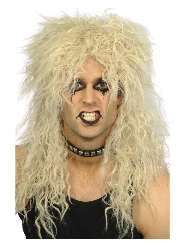 Hard Rocker Wig, Blonde, Long Tousled