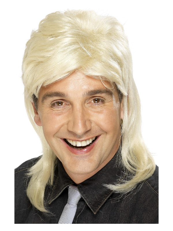 Mullet Wig, Blonde