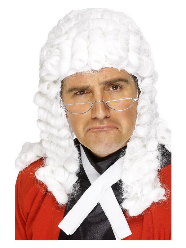Judge's Wig, White