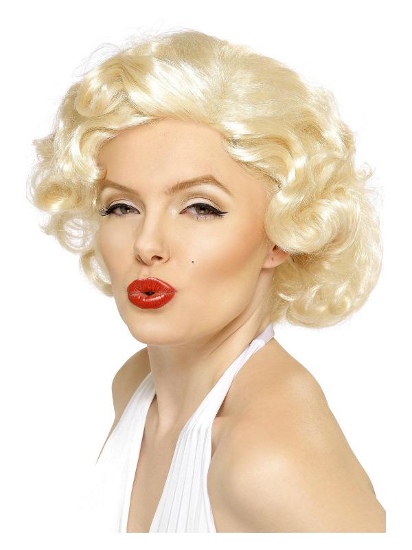 Marilyn Monroe Bombshell Wig, Blonde, Short
