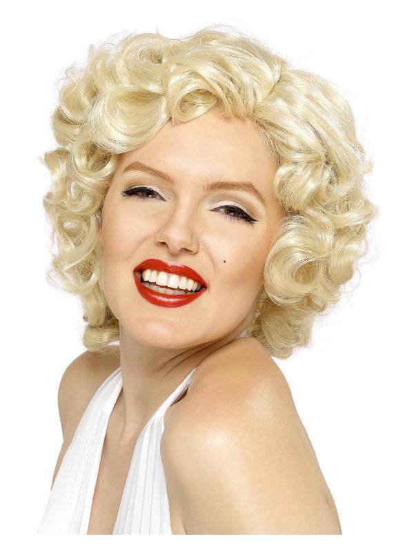 Marilyn Monroe Wig, Blonde, Short