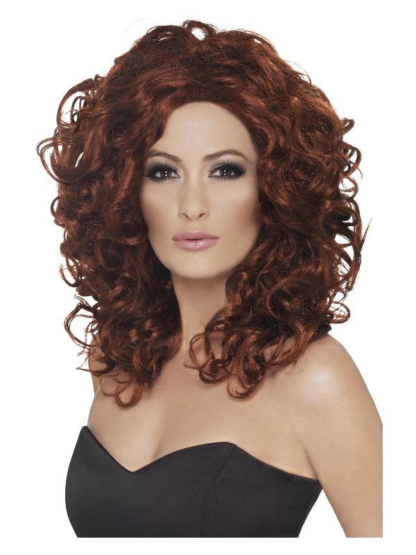 Fantasy Wig, Auburn, Curly